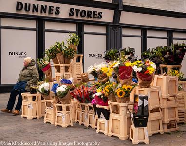 Flowers on Grafton Street