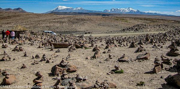 Cairns  at Mirador de los Andes