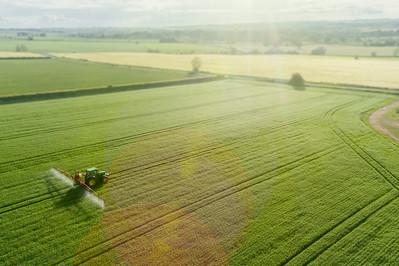 Countryside Farm by Drone