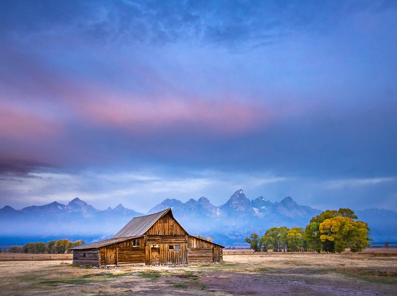 Mormon Row Barn, Grand Teton National Park