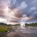 Yellowstone Sunset