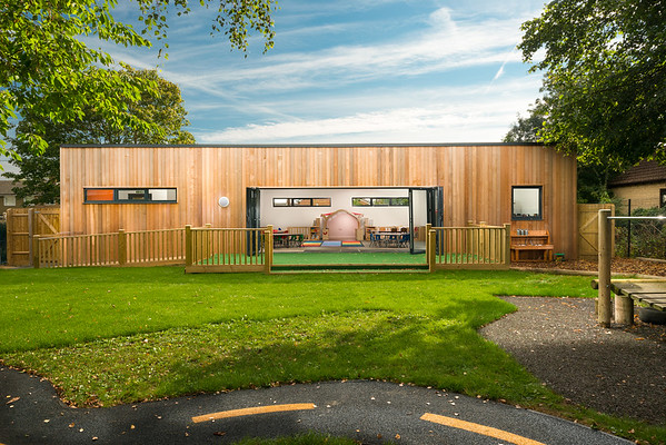 Studio13Architecture Yarnton Preschool design by Maya Ellis