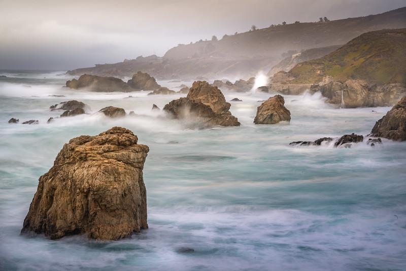 Angry Ocean, Big Sur