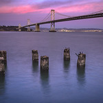 Bay Bridge Sunset, San Francisco
