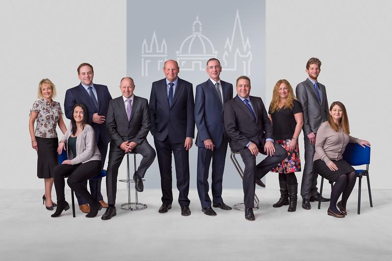 Group Portrait of Investment Advisors