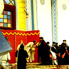 Emperor Haile Selasie at Meskal ceremony 1968