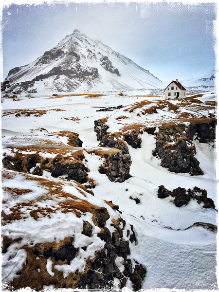 Arnastapi in the Snow