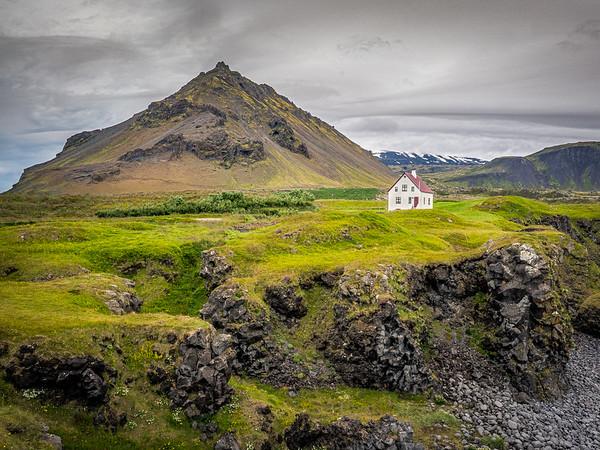 My House in Arnastapi, Iceland