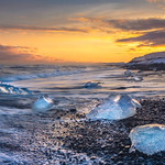 South Coast Iceland; Diamond Beach