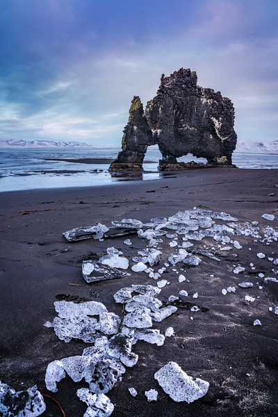 Iceland Sea stack