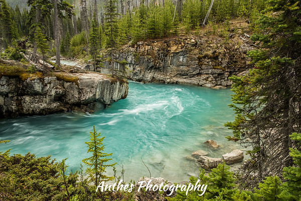 Marble Canyon, Kootenay National Park, BC, Canada