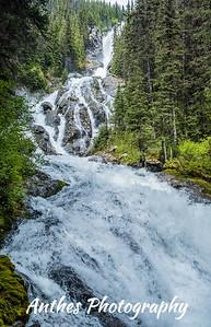 Silvertip Falls, Wells Gray Provincial Park, BC, Canada