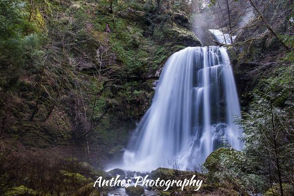 Elk River Falls, Oregon
