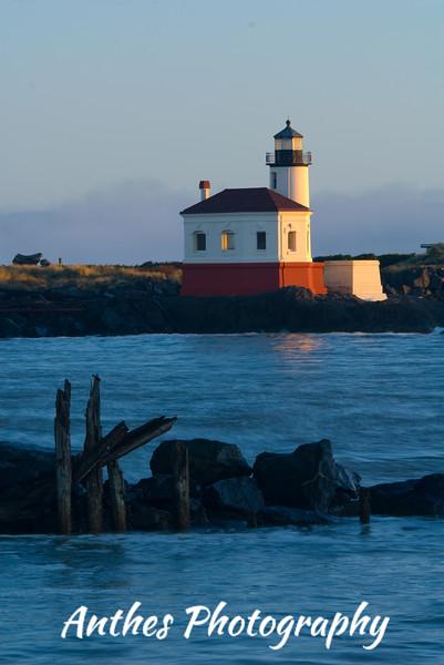 Coquille River Lighthouse, Bandon, Oregon, USA