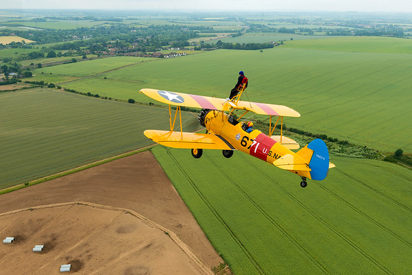 Wingwalking at 82
