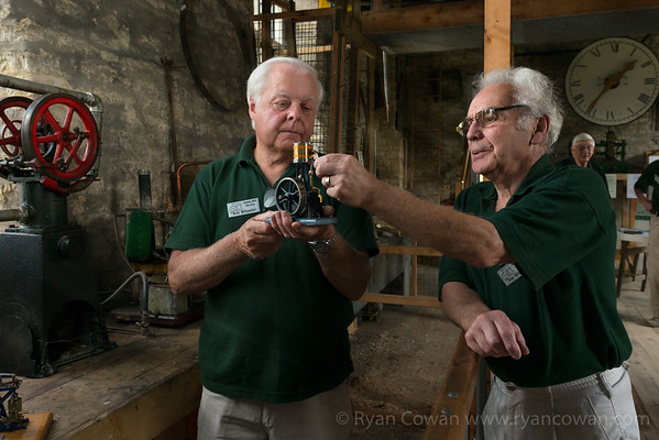 Volunteers at Combe Mill