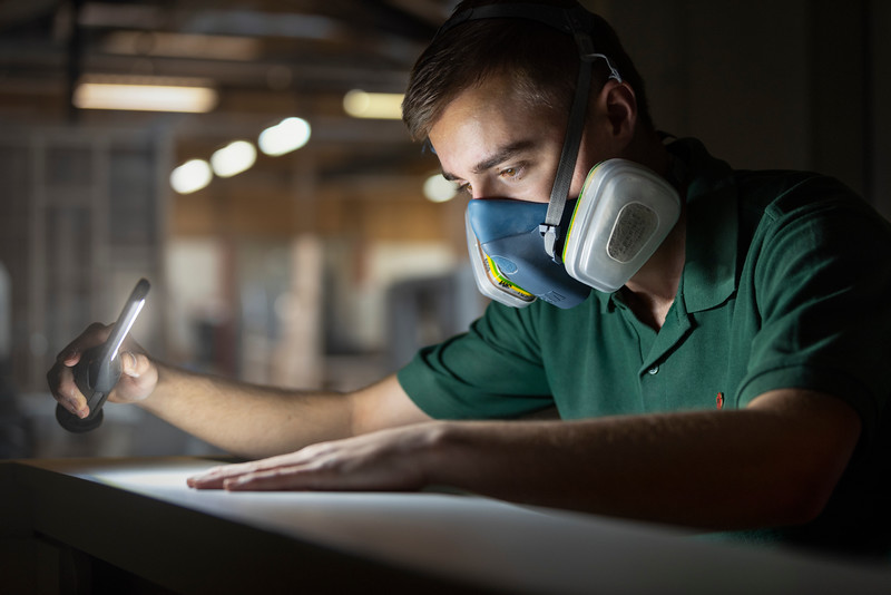 Young person working for Kingerlee Joinery : Quality Assessment
