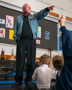 Astronaut Al Wordon
