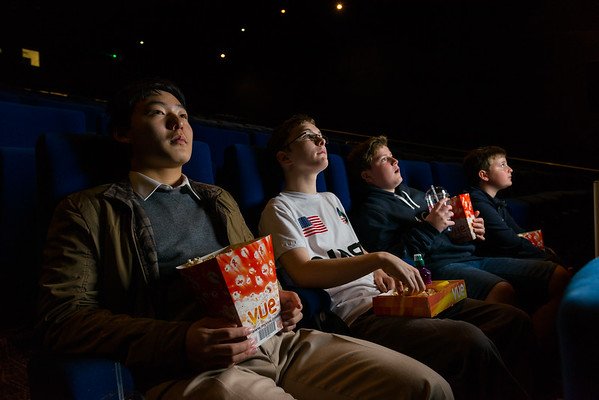 Vue Cinema - Space Enthusiasts watch First Man