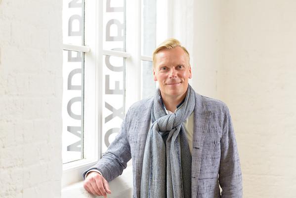 Director of Modern Art Oxford Paul Hobson