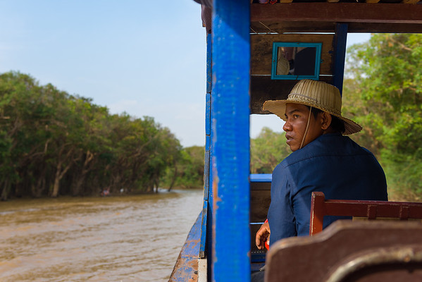 Kampong Phluk, on the Tonle Sap in the Province of Siem Riep, Cambodia