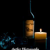 Creative wine bottle photography