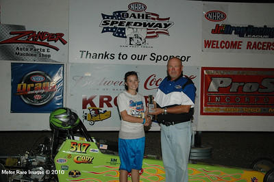 Winners Circle Coca Cola Points Races #9 and #10, Sept 5, 2010