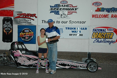 Winners Circle August 21, 2010