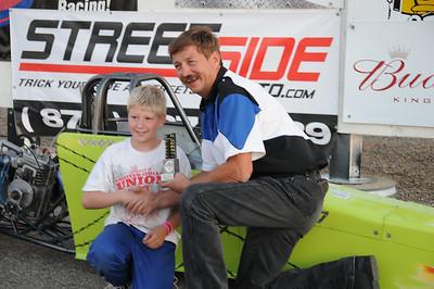 Oahe Speedway Shootout Races w/Junior Drag Racing League Challenge September 3, 2011