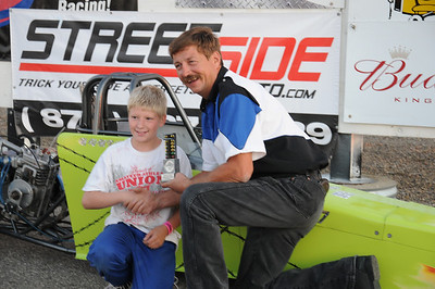 Oahe Speedway Shootout Races w/Junior Drag Racing League Challenge September 3, 2011