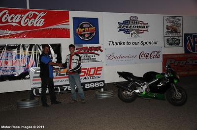 Oahe Speedway Street Legal Drags September 2, 2011