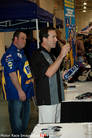 Ron Capps at Winterfest of Wheels 2011