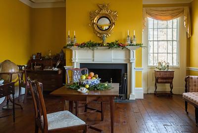 Decorating Israel Crane House & Historic YWCA