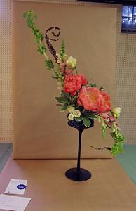 "April, Advanced II, Traditional Line Hogarth ""S"" Design. Lillian Rockwood, First Award"