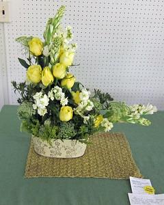 April, Novice, Traditional Line Design, Carol Callahan, Third Award