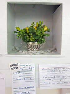 February, Intermediate, Traditional Miniature Design, Sharla Blanz, Honorable Mention