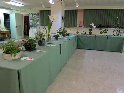 March, Horticulture Exhibits