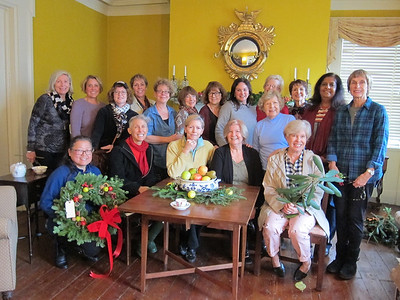 Decorating Israel Crane House & Historic YWCA