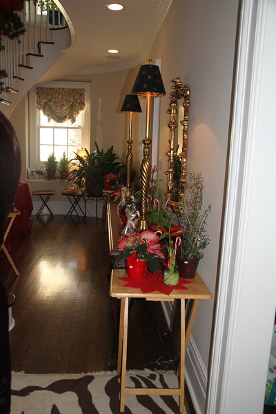 December, Holiday Tea at Cynthia Corhan-Aitken's home