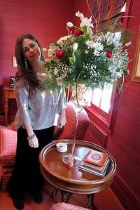 December, Holiday Tea at Cynthia Corhan-Aitken's home