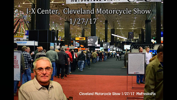Cleveland Motorcycle Show 1 27 17