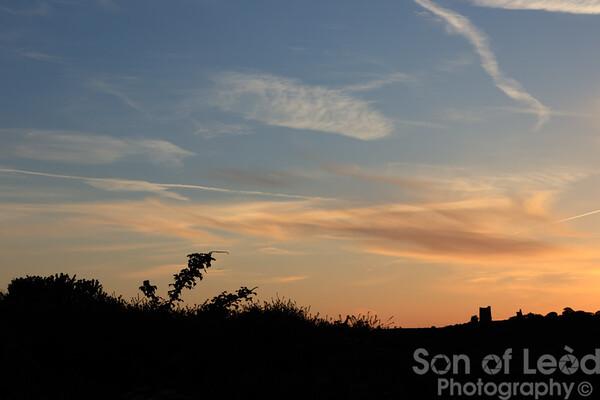 Two Tree Island Sunset