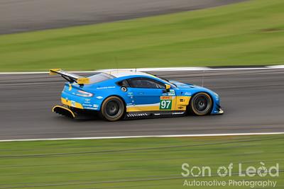 Aston Martin GTEpro heading thru Vale