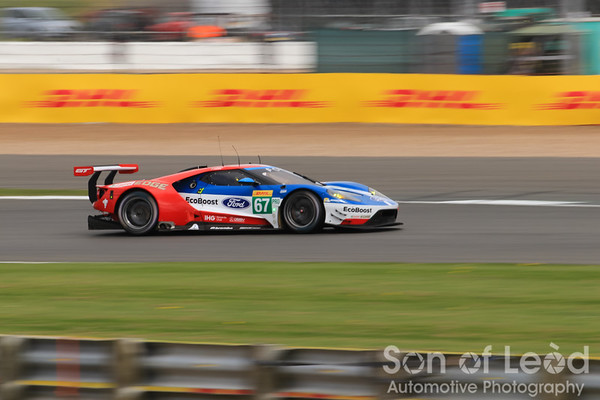 Ford GT GTEpro heading out of Village