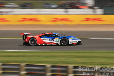 Ford GT GTEpro heading into the Loop