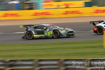 Aston Martin GTEpro heading out of Village