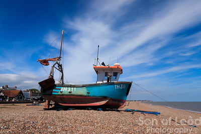 Images from a sunny beach walk