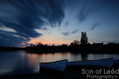 Thorpeness sunset