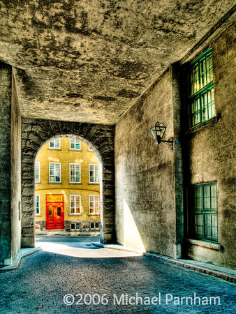 Red Door Passageway
