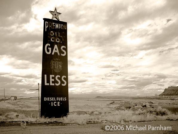 Premium Oil Sign Expanse